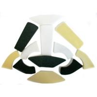 Foam Pad Set for Adjustable Helmet Comfort Liner