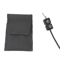 Active Noise Reduction Soft Battery Pouch with Shut Off Switch