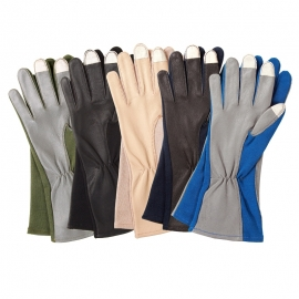Touch Screen Compatible Flight Gloves