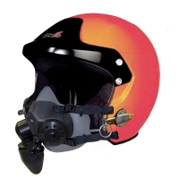 STILO Marine Trophy DES Offshore Open Face helmet with STILO Communications (for Tiger mask use - Mask not included)
