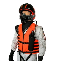 Vest Mounted Survival Breathing Air System Package for Scuba Mask Applications