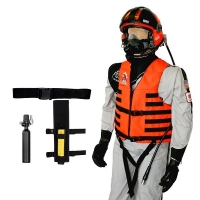 Leg Holster Mounted Survival Breathing Air System Package for Scuba Mask Applications