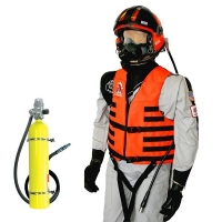 Boat Mounted Survival Breathing Air System Package for Scuba Mask Applications