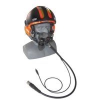 Open Face Marine Helmet Communications
