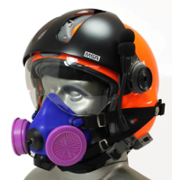 Half Respirator Masks for Air Medical/EMS/SAR Flight Helmets