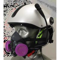 Half Respirator Masks for Cut Away Air Medical/EMS/SAR Flight Helmets