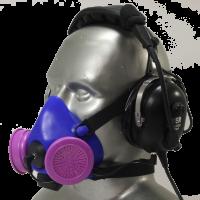 Half Respirator Masks for Headsets