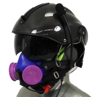 Icaro Aviation Helmet with Respirator