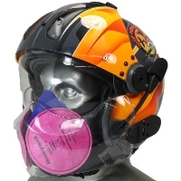Respirator Mask with Tiger Maxillo Face Shield
