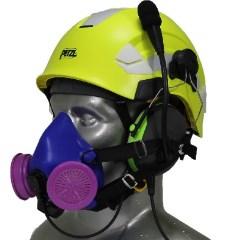 Icaro Aviation Helmet with Respirator Mask