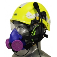 Vertex Aviation Helmet with Respirator
